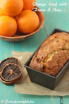 Fruit and nut orange Loaf !!!