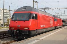 Swiss Railways, Locomotive, Trains, Europe, Locs, Train