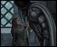 Game of Thrones, Sansa Stark & Sandor - Where were you by Bubug