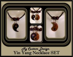 couples gift ideas,Mens jewelry,Mens gift ideas,Couples yin yang Jewelry set,Best freinds jewelry, Yin Yang necklace,OOAK by Artistic Creations by Rose, $48.00 USD