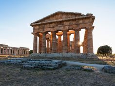 When I was growing up, I used to spend every summer in Paestum, Italy so it's…