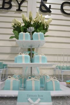 TIFFANY & CO Baby Shower Party Ideas   Photo 1 of 11   Catch My Party