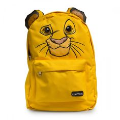 Lion King Simba Face Printed Backpack - Disney - Brands Or can be found @ HotTopic for cheaper!!!