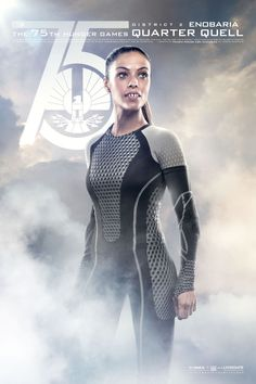 Catch Your Breath: The New 'Hunger Games: Catching Fire' Posters Are Here!: Meta Golding as Enobaria