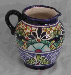 Talavera Pitcher - Mexican Connexion for Talavera Pottery [ MexicanConnexionforTile.com ] #shop #Talavera #Mexican