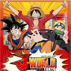 J-World Tokyo: One Piece, Naruto and Dragon Ball Attractions at Shonen Jump Manga ThemePark!