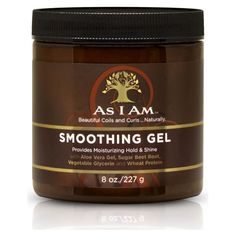As I Am Smoothing Gel 227g ($8.21) ❤ liked on Polyvore featuring beauty products, haircare and styling products