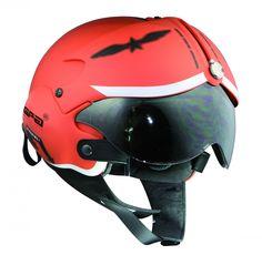 Fighter Pilot Style Motorbike Helmet Tornado Jet