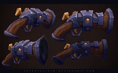 Fantasy Pistol by ~CorderoStorm on deviantART