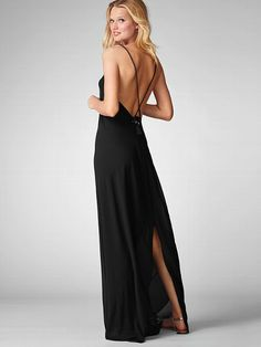 Tie-back Maxi Dress - Victoria's Secret