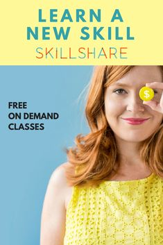 Learn a new skill today! Skillshare is an awesome online learning community where you can learn a new skill in just about anything! There are over 16,000 free and premium classes. Personalized, on-demand education.