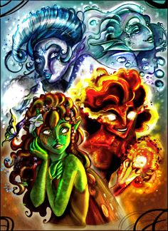 Elements by IriusAbellatrix on deviantart