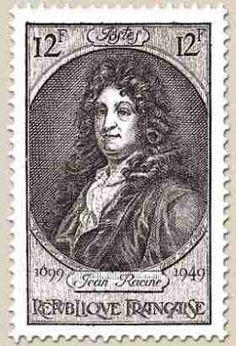 France Stamp - Jean Racine