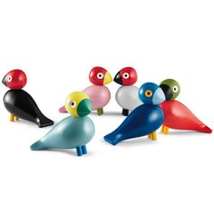 The Songbird is a new creation from Kay Bojesen that joins the family of wooden animals created by the artist. The Songbirds were designed in the 1950s but were never put into production at the time.