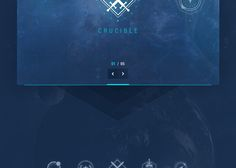 gui design Destiny is more than just a game its a phenomenon, with legions of dedicated Game Interface, Just A Game, Site Design, Ux Design, Online Web, Game Ui, Data Visualization, Cyberpunk, Destiny