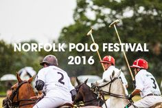 We are proud to say that we are one of the official sponsors of the Norfolk Polo Festival 2016. So make sure you pop along to the event between 18th-19th June in aid of the East Anglian Air Ambulance!
