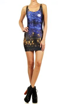 Great Hall Bodycon Dress from POPRAGEOUS #harrypotter
