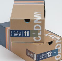 shoe box packaging - tara abrahamovich