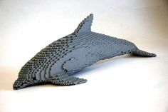 Dolphin 50 Incredible Examples of Lego Creations and Artwork