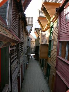 The old Hanseatic wharf - Bergen (Norway)
