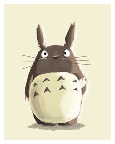 Anyone else remember watching this? Totoro