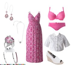 Cute maxi dress from LaneBryant.com
