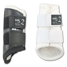 Other English Tack 3155: Dsb 2 Dressage Sport Boots - Large Pair - White With White Fleece Lining -> BUY IT NOW ONLY: $57.79 on eBay!