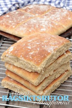 dagensrecept Savoury Baking, Healthy Baking, Bread Baking, Bread Bun, Bread Cake, Bread Recipes, Baking Recipes, Bread Shop, Scandinavian Food