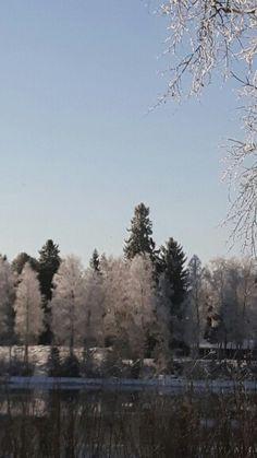 Oulujoki maaliskuussa Jokirinteellä