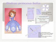 disfraz princesa Sofía Disney