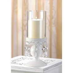 White Lot Of 12 Crystal Candle Holders Crystal Hurricane Candle Holders Wholesale Crystal Centerpieces Wholesale Crystal Decor Reception Decoration off retail Hurricane Lanterns, Hurricane Candle Holders, Candle Stand, Candle Lanterns, Pillar Candles, Lantern Lamp, Scented Candles, Lace Candles, Candle Cups