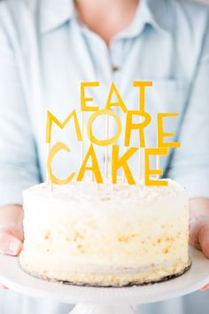 3 Fun + Awesome DIY Cake Toppers