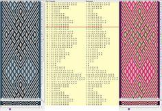 40 tarjetas, 3 colores, repite cada 44 movimientos // sed_649a diseñado en GTT༺❁