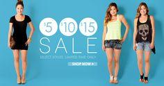 Shop our Sale!