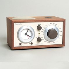 Tivoli Audio - Model Three Clock Radio - Walnut