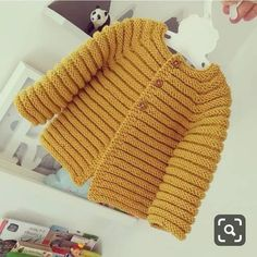 Knit baby cardigan – merino knit baby cardigan – handknit sweater – handmade newborn – knit baby jacket – newborn knit – The Best Ideas Cardigan Bebe, Knitted Baby Cardigan, Hand Knitted Sweaters, Cardigan Pattern, Sweater Jacket, Knitting For Kids, Baby Knitting Patterns, Baby Patterns, Hand Knitting