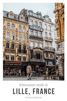 Lovely Afternoon Walk in Lille, France Corsica, The Places Youll Go, Places To See, Calais France, Loire Valley, Travel Goals, Travel Tips, Travel Plan, Beau Site