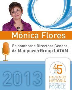 En 2013, ManpowerGroup...