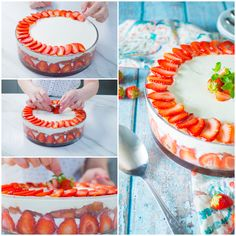 Tiramisù alle fragole, la ricetta di Sonia Peronaci Birthday Cake, Cakes, Food, Mascarpone, Cake Makers, Birthday Cakes, Kuchen, Essen, Cake