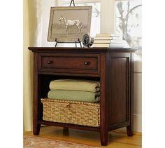 Hudson Wide Bedside Table