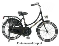 Omafiets Zwart 20 Inch | bestel gemakkelijk online op Fietsen-verkoop.nl