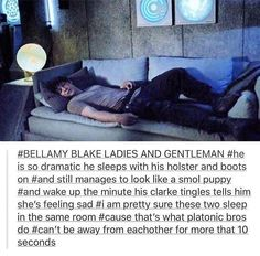 ahah people are going crazy on socials - Bellarke is too precious - The100 4x03
