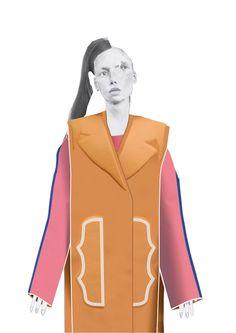 2015 Westminster Fashion illustration – Matthew Witcombe