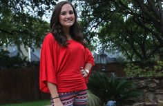 Our Favorite Kinzie Top- S-XL! 50% off at Groopdealz
