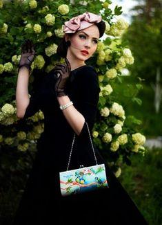 Idda van Munster - блог о винтажном стиле