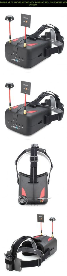 Eachine VR D2 5 Inches 800*480 40CH Raceband 5.8G FPV Goggles with DVR Lens #gadgets #eachine #fpv #shopping #drone #goggles #parts #racing #plans #products #technology #tech #800 #kit #camera