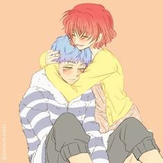 Shin-ah and Yona. =^^= || By ぼてうさ on pixiv