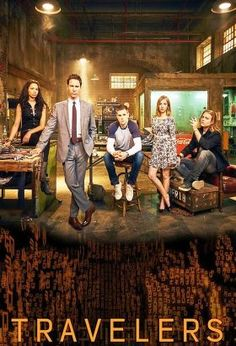 Travelers (2016) / S: 1 / Ep. 12 / SciFi / Stars: MacKenzie Porter, Nesta Cooper, Eric McCormack / Hundreds of years from now, surviving humans discover how to send consciousness back through time, into people of the 21st century. These travelers assume the lives of others, while attempting to save humanity from a terrible future.