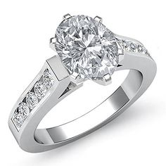 $6,099  -  * GIA CERTIFIED * 1.60 CARATS OVAL CUT DIAMOND ENGAGEMENT RING ON 14K SOLID WHITE GOLD F 26 D http://www.amazon.com/dp/B00M4GHBKA/ref=cm_sw_r_pi_dp_qsOyub0DTZJC7