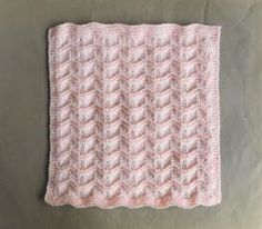 Gentle Breeze Baby Blanket Gentle Breeze Baby Blanket Requirements: DK yarn (around 70g for the small size) 4...